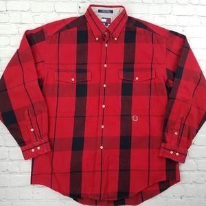 Vintage 1990's Tommy Hilfiger Plaid Shirt